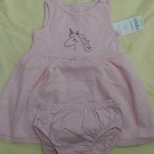 Carters tutu pink dress
